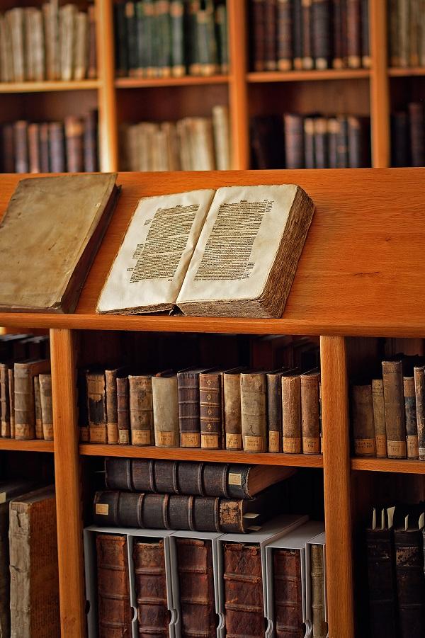 Spenden - Stiftsbibliothek Zeitz (Foto: F. Matte)